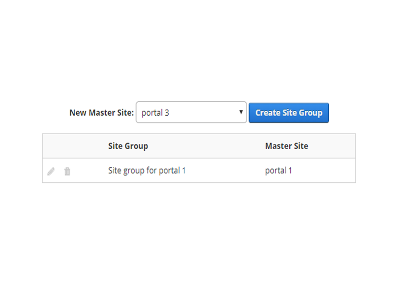 Manage Portal Groups